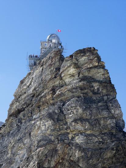 Switzerland, Bern Canton, Jungfraujoch, Sphinx Observatory Photographic  Print by Jamie And Judy Wild | Art com
