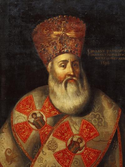 Switzerland, Geneva, Portrait of Patriarch of Constantinople, Cyril Lucaris--Giclee Print