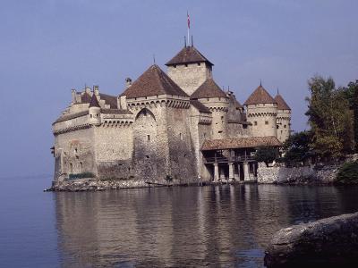 Switzerland, Near Montreux, Chateau De Chillon--Giclee Print