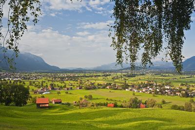 Switzerland, St. Gallen, Grabs (Valley)-Rainer Mirau-Photographic Print