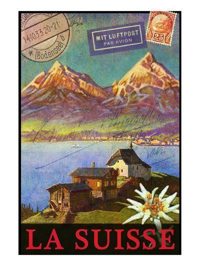Switzerland, Swiss Mountains, Matterhorn-Chris Vest-Art Print