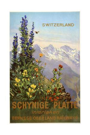 Switzerland View-Marcus Jules-Giclee Print