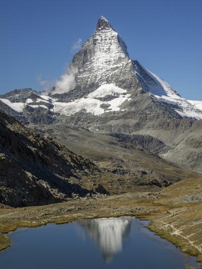 Switzerland, Zermatt, Rotenboden, Riffelsee and Matterhorn-Jamie And Judy Wild-Photographic Print