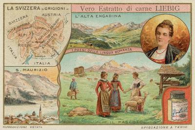 Switzerland--Giclee Print