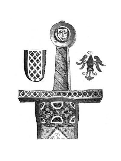 Sword of Charlemagne, C8th Century--Giclee Print