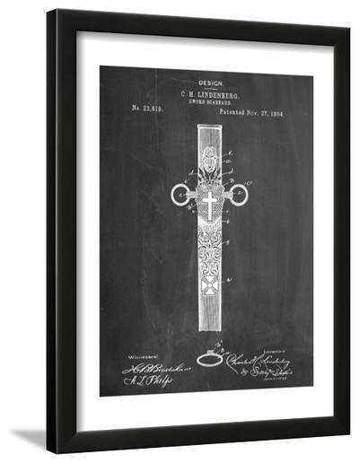 Sword Scabbard Patent--Framed Art Print