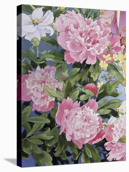 Syakuyaku II-Haruyo Morita-Stretched Canvas Print
