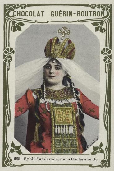 Sybil Sanderson, Dans Esclarmonde--Giclee Print