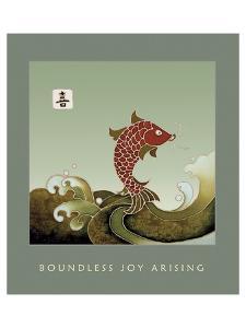 Boundless Joy Arising 1 by Sybil Shane