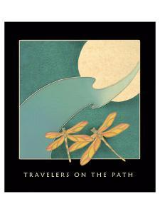 Travelers On The Path 1 by Sybil Shane