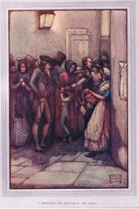 I Remember the Waiting at the Door by Sybil Tawse