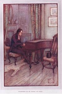 Thrumming on My Friend A's Piano by Sybil Tawse