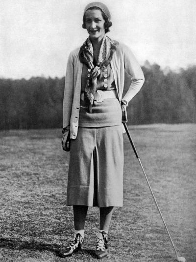 Sybil Whigham, The American Golfer, May 1931--Premium Photographic Print