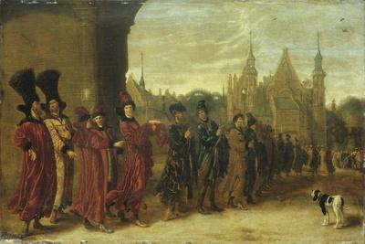 Ambassadors from the Czar of Muscovy in the Hague on 4 November 1631, 1630S