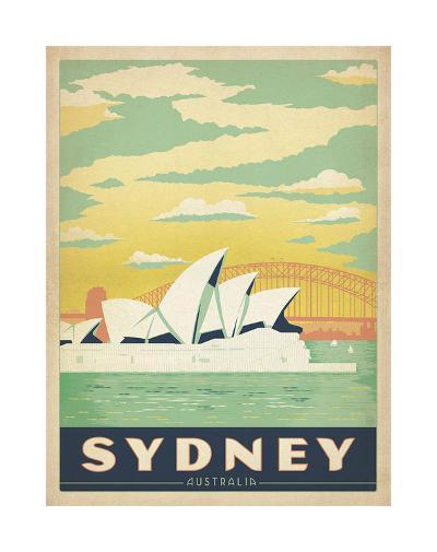 Sydney, Australia-Anderson Design Group-Giclee Print