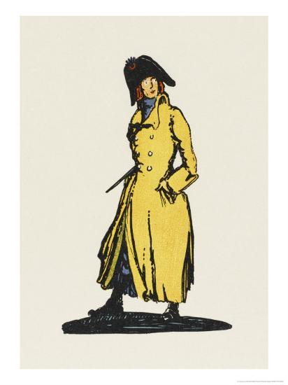 Sydney Carton, Lawyer-Claud Lovat Fraser-Giclee Print
