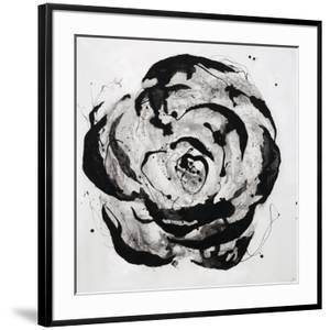 Black and White Bloom I by Sydney Edmunds