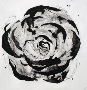 Black and White Bloom I by Sydney Edmunds