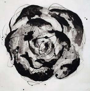 Black and White Bloom II by Sydney Edmunds