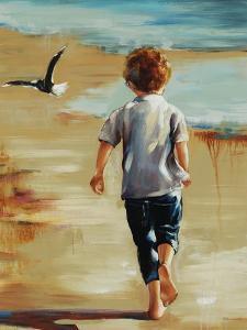 Boy at the Beach by Sydney Edmunds