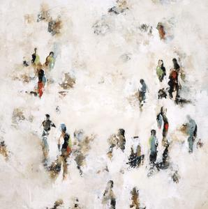 Crowd on the Street by Sydney Edmunds