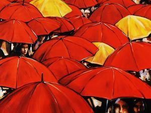 Red Umbrella by Sydney Edmunds