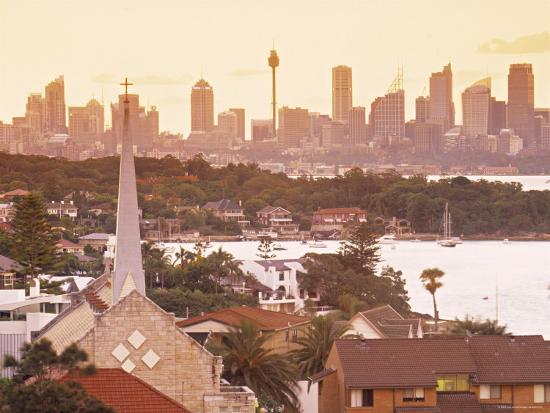 Sydney from South Head, Sydney, Nsw, Australia-Doug Pearson-Photographic Print