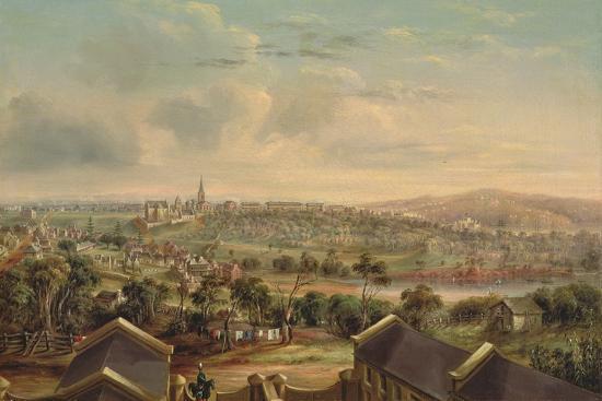 Sydney from Woolloomooloo, 1849-George Edward Peacock-Giclee Print