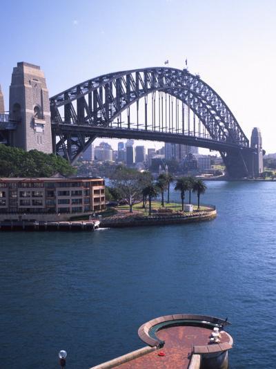 Sydney Harbor Bridge, Australia-David Wall-Photographic Print