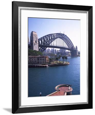 Sydney Harbor Bridge, Australia-David Wall-Framed Photographic Print