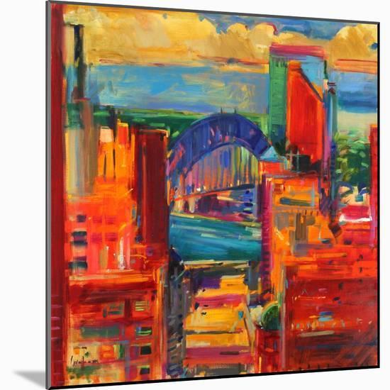 Sydney Harbour Bridge, 2012-Peter Graham-Mounted Giclee Print