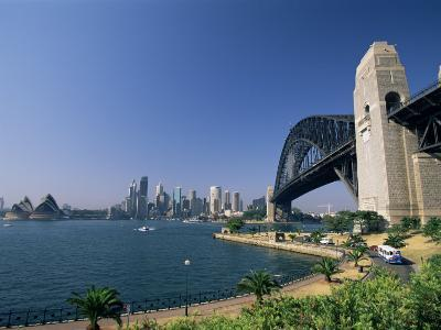 Sydney Harbour Bridge and Skyline, Sydney, New South Wales, Australia-Neale Clarke-Photographic Print