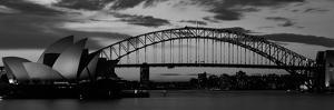 Sydney Harbour Bridge at Sunset, Sydney, Australia