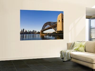 Sydney Harbour Bridge from Milson's Point-Greg Elms-Wall Mural
