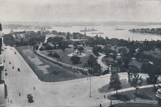 'Sydney Harbour, New South Wales', 1924-Unknown-Photographic Print