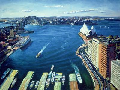 Sydney Harbour, Pm, 1995-Ted Blackall-Giclee Print