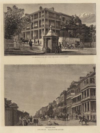 Sydney Illustrated--Giclee Print