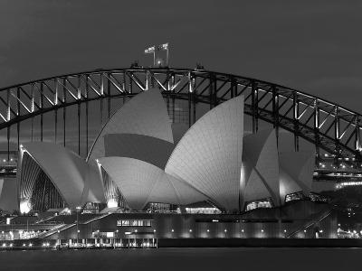 Sydney, Opera House at Dusk, Australia-Peter Adams-Photographic Print