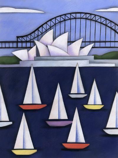 Sydney Opera House, Sydney, Australia--Photo