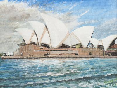 Sydney Opera House-Vincent Booth-Giclee Print