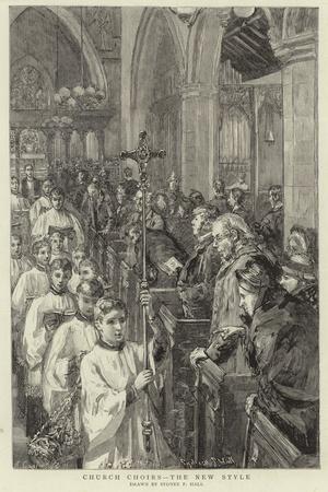 Church Choirs, the New Style