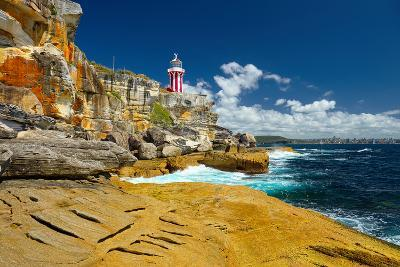 Sydney South Head Lighthouse. Australia.- Alvov-Photographic Print