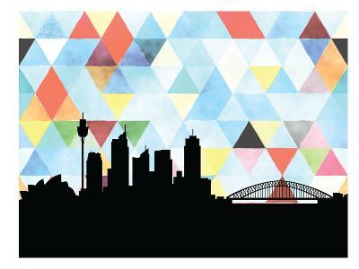 Sydney Triangle--Art Print