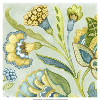 Decorative Golden Bloom I