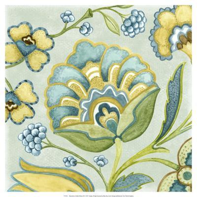 Decorative Golden Bloom III