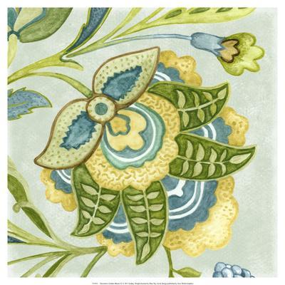 Decorative Golden Bloom IV