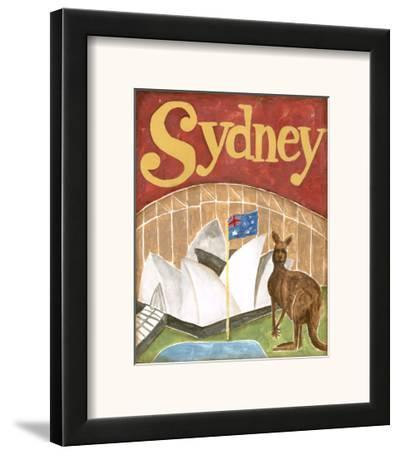Sydney-Megan Meagher-Framed Art Print