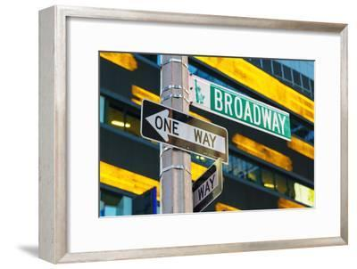 Broadway Sign in Time Square, New York