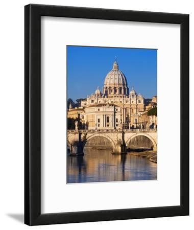 Sant'Angelo Bridge and St. Peter's Basilica