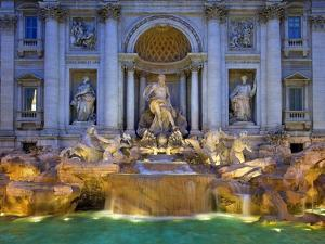 Trevi Fountain by Sylvain Sonnet